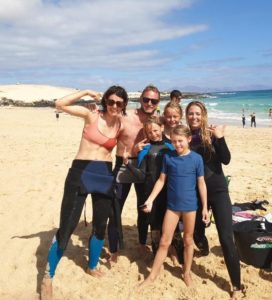 Family surfing lessons in Cornwall. Best surf school in Cornwall