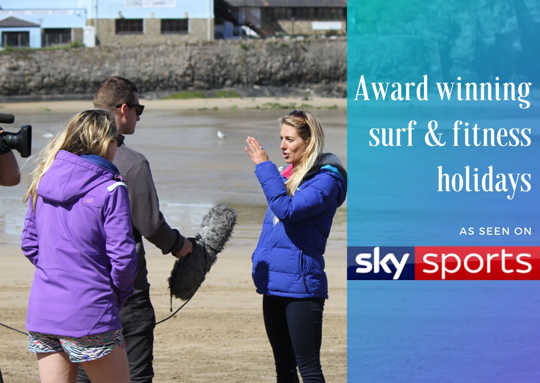Award winning surf and fitness holidays in Fuerteventura and Cornwall. Surfing lessons, personal training, yoga and pilates with pro surfer and celebrity personal trainer Tehillah McGuinness